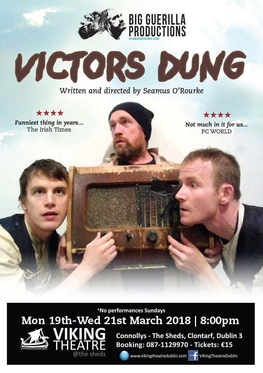 A3 Victors Dung Poster-Viking Theatre