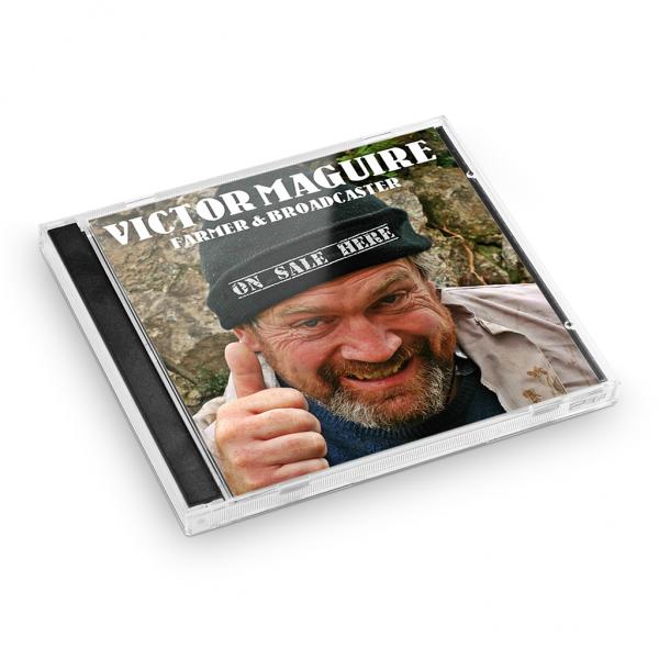 CD Case Victor Maguire | Seamus O'Rourke | Big Guerilla Productions