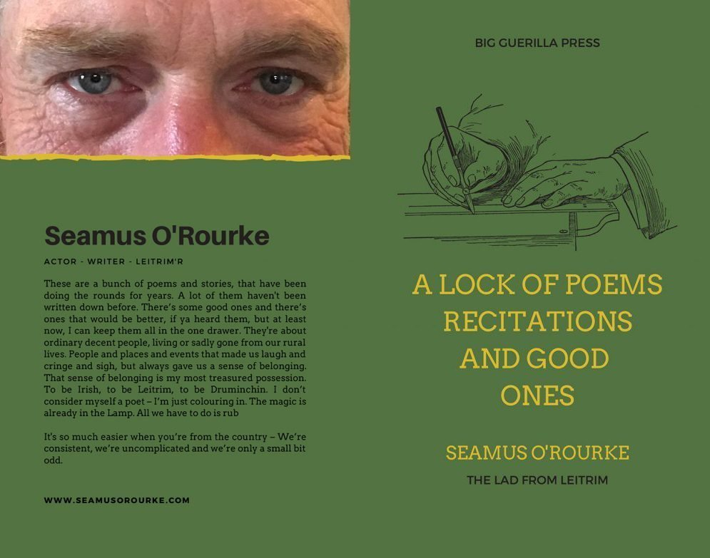 A Lock of Poems, Recitations and Good Ones by Seamus O'Rourke | Writer | Actor | Poet